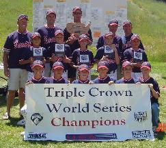2004 Triple Crown World Series Champions